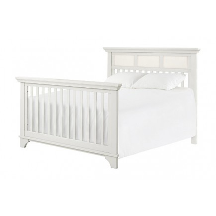 ARCADIA 4-IN-1 CONVERTIBLE CRIB WITH TODDLER BED CONVERSION KIT