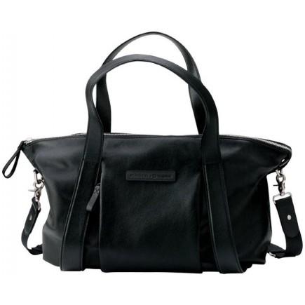 Storksak + Bugaboo Leather Diaper Bag