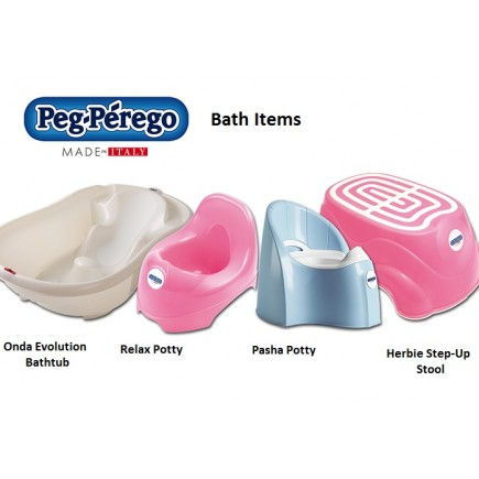 Peg Perego Relax Potty 3 COLORS