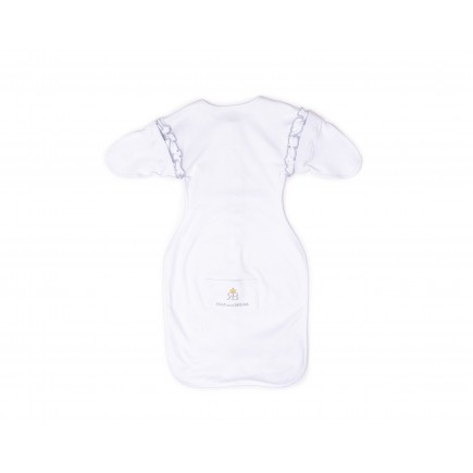 RB Royal Baby Snap and Dream Swaddle Transition. Hip-Healthy Design