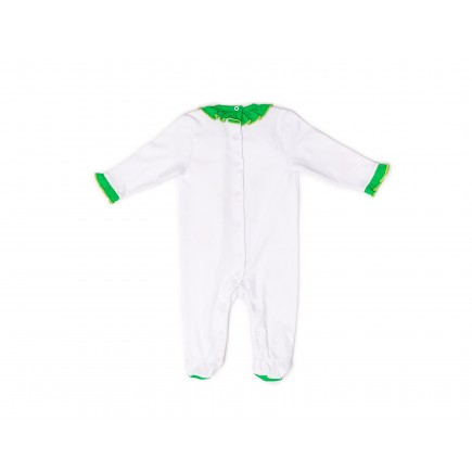 RB Royal Baby Organic Cotton Footed Overall, Footie (My Love) Multi Color