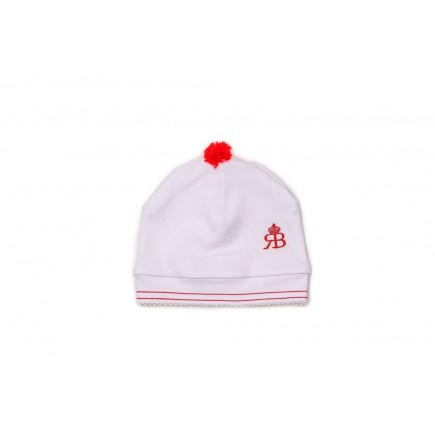 RB Royal Baby Organic Cotton Beanie Hat Super Soft Infant Cap (Captain)