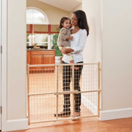 Position & Lock 32 in. Tall Gate (Wood)