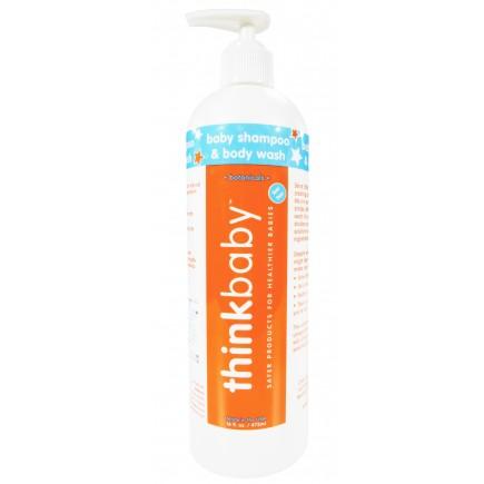 Thinkbaby Shampoo & Body Wash 16oz