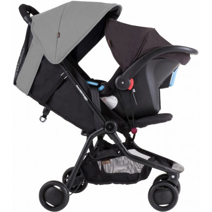 Mountain Buggy Nano Travel Stroller - Silver ( Exclusive)