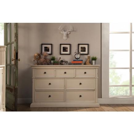 Nelson 7 Drawer Double Wide Dresser