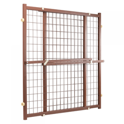 Now and Furever 32 in. Tall Gate (Brown)
