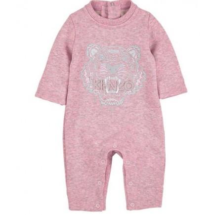 KENZO KIDS Fleece longall Pink