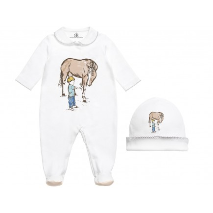Royal Baby Collection Horse Babygrow, Footie