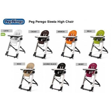 Peg Perego Siesta High Chair - Arancia