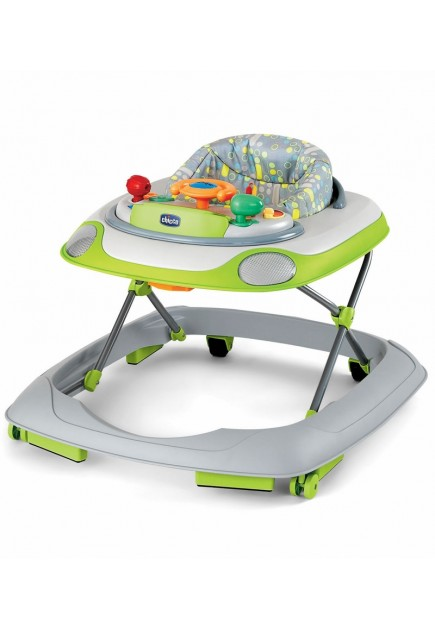 Chicco Lil' Driver Baby Walker in Silver