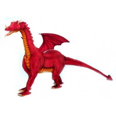 "Hansa Toys Red Dragon Ride-on 46"" H"