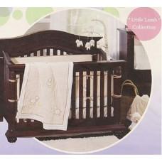 Crown Crafts Babies R Us Little Lamb 7-Piece Crib Bedding Set