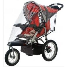 Instep Weathershield for Single Swivel Wheel Stroller