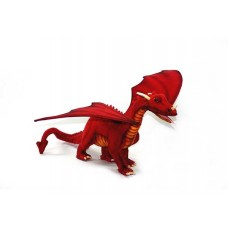 "Hansa Toys Great Dragon Red 18"" LONG"